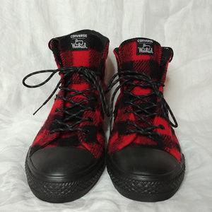 a50dc052385f Converse Shoes - Converse Woolrich Wool Plaid Star Player Hi Top 10